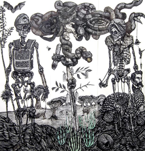 , 'Adan y Eva,' 2015, Galería Artizar