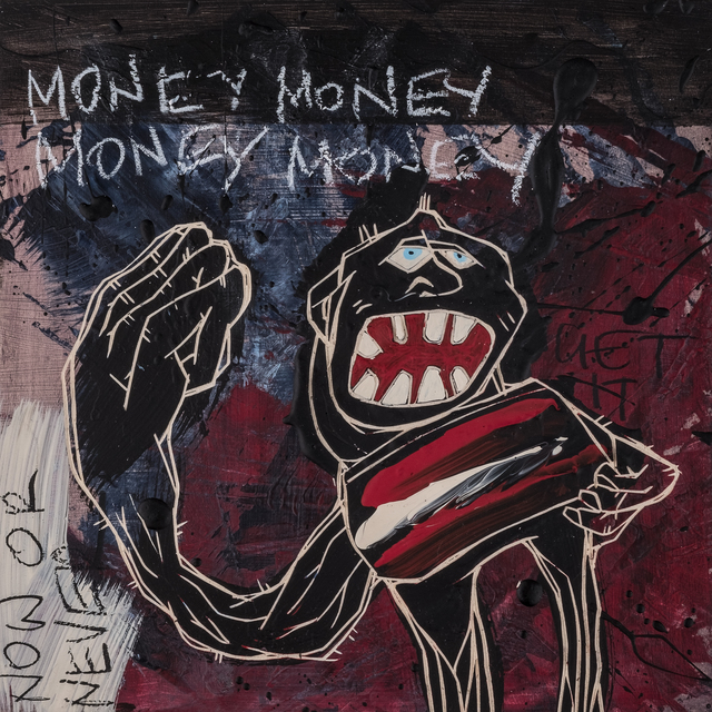 , 'Money Money Money Money | The Freedom Paintings #16,' 2018, heliumcowboy
