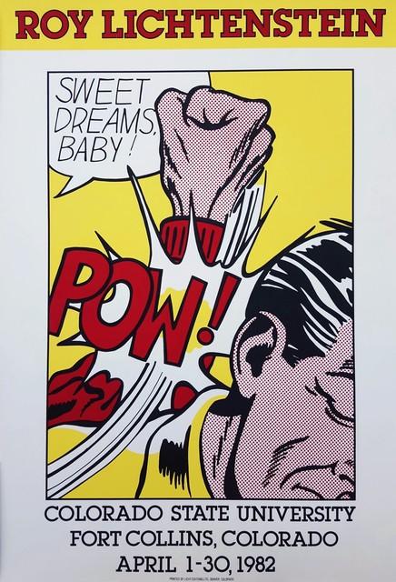 Roy Lichtenstein, 'Colorado State University (Sweet Dreams Baby!)', 1982, Graves International Art