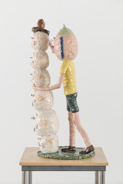 Joakim Ojanen, 'Finishing Touch on New Sculpture', 2018, Richard Heller Gallery