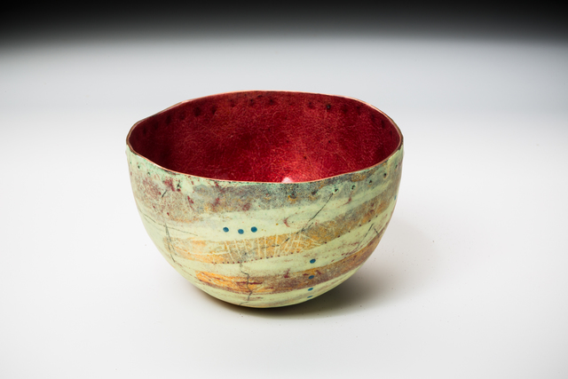, 'Yellow Caverns Bowl,' 2016, Mobilia Gallery