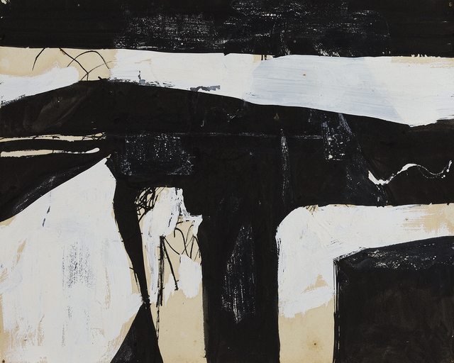 Charlotte Park, 'Untitled (50-35)', ca. 1950, Drawing, Collage or other Work on Paper, Gouache on paper, Berry Campbell Gallery