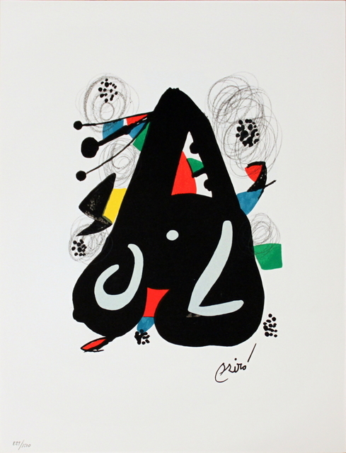 Joan Miró, 'Untitled from La Melodie Acide XIII', 1980, ArtWise