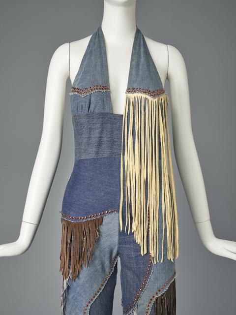 , 'Woman's pantsuit,' ca. 1970, de Young Museum