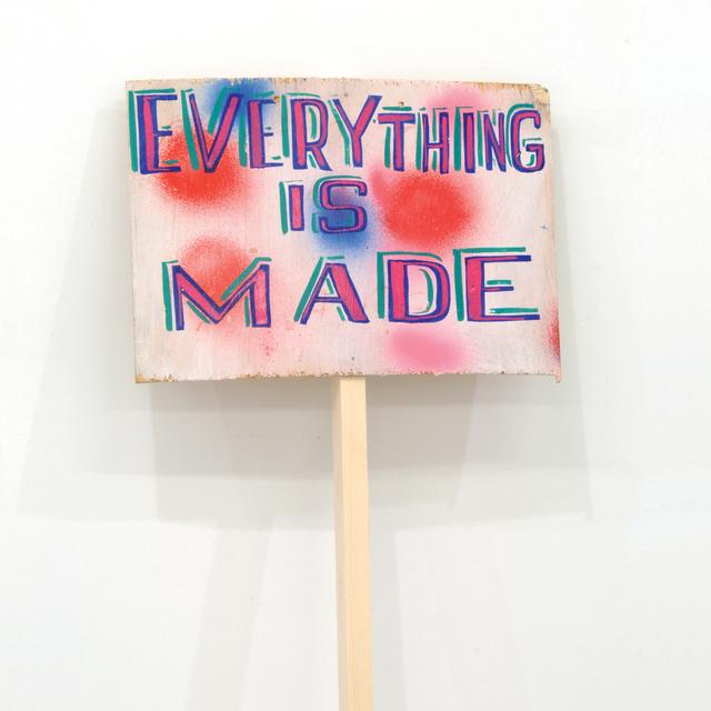 , ''Everything is made',' 2015, Kusseneers
