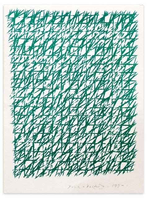 Piero Dorazio, 'Composition', 1990, Wallector