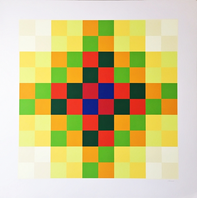 Hugo Demarco, 'Relation Couleur', 1973, Alpha 137 Gallery