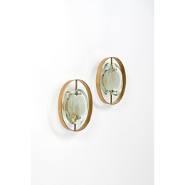 Model No. 2240 called microphone; Pair of wall lights