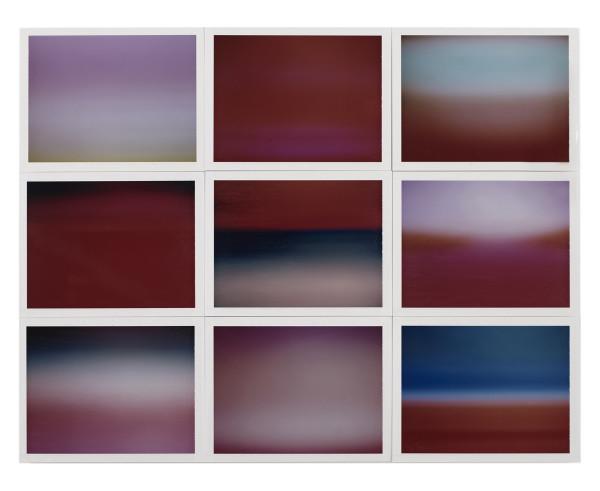 , 'Horizon, étude couleur #8,' 2015, Galerie Thierry Bigaignon