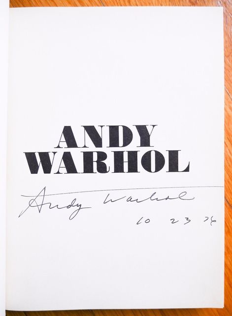 Andy Warhol, 'Moderna Museet Stockholm 1968 - SIGNED and dated.', MultiplesInc Projects