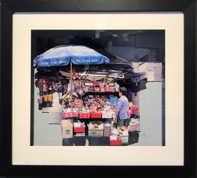, 'Snack Stall on Graham Street (Central, Hong Kong),' 2017, Blue Lotus Gallery