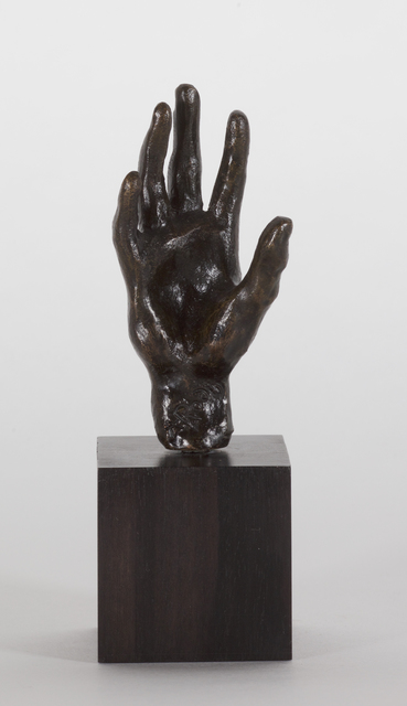 , 'Main no 32, petit modèle,' Conceived 1880-1885 this cast 1959 Georges Rudier, Jill Newhouse Gallery