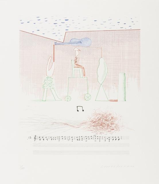David Hockney, 'Parade (M.C.A.Tokyo 183)', 1976-77, Forum Auctions