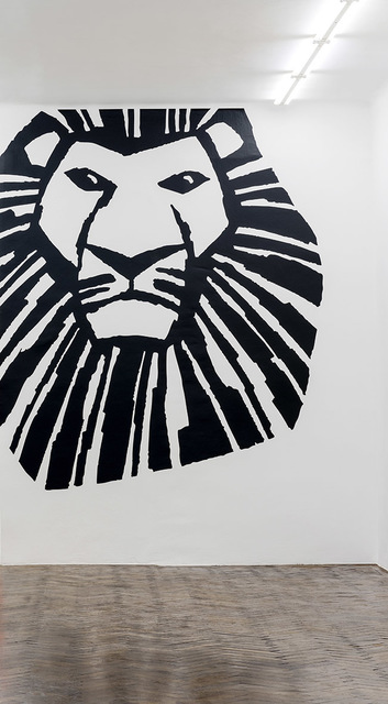 , 'the lion king,' 2018, Galerie Hubert Winter