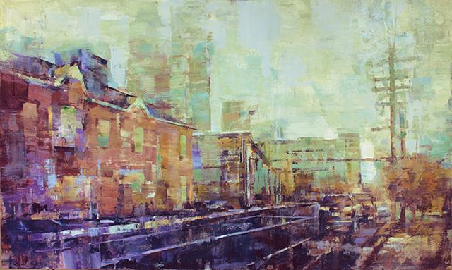 , 'Queen City Dawn,' 2019, Shain Gallery