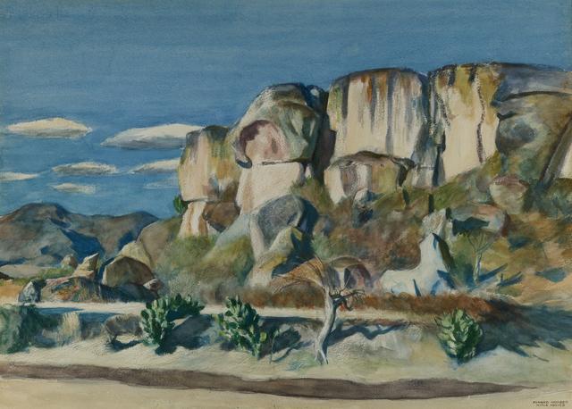 , 'Cliffs Near Mitla, Oaxaca,' 1953, Debra Force Fine Art