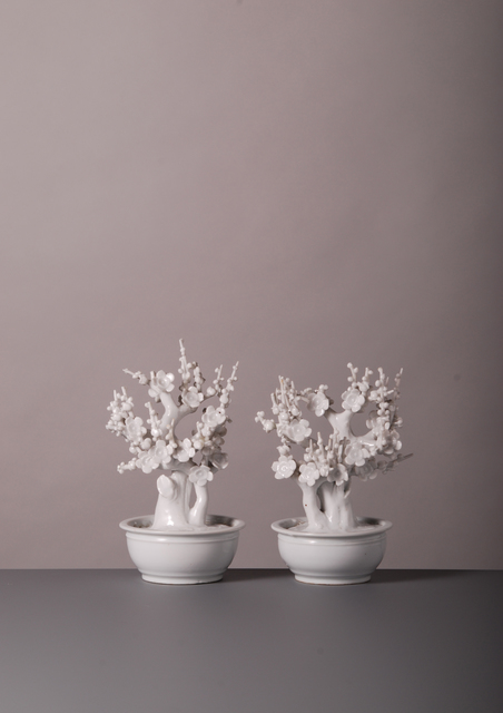 , 'Pair of Trees,' China-19th Century, Vanderven Oriental Art