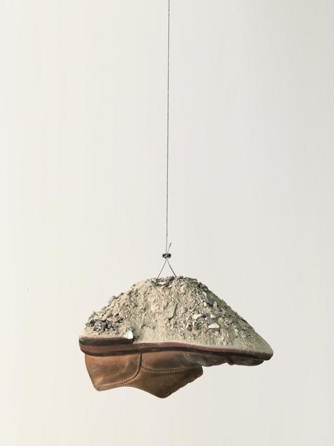 , 'Cumulo (scarpe e macerie),' 2016, Galleria Raffaella Cortese