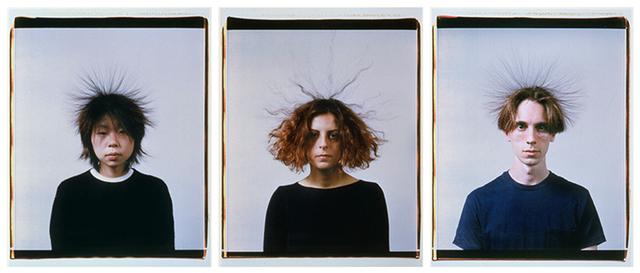 , 'Static Portraits (Momo, Devrim, Karl),' 2000, Centre Pompidou