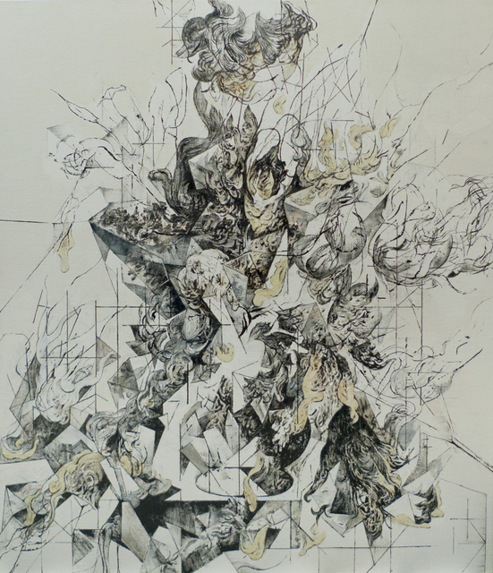 , 'Flowers in a Vase Version C,' 2014, Taksu