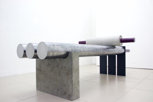 , 'Streckbank Martha,' 2014, O W G