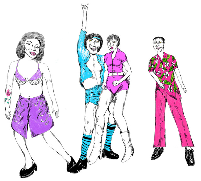 Gerald Wiggins, 'Funky Dancing', 2015, Creativity Explored
