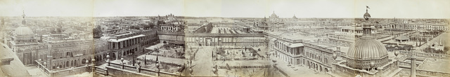 , 'Panorama of Lucknow, The Courtyards of the Qaisarbagh from the Roshan-ud-daula Kothi.,' 1858, Roland Belgrave Vintage Photography Ltd