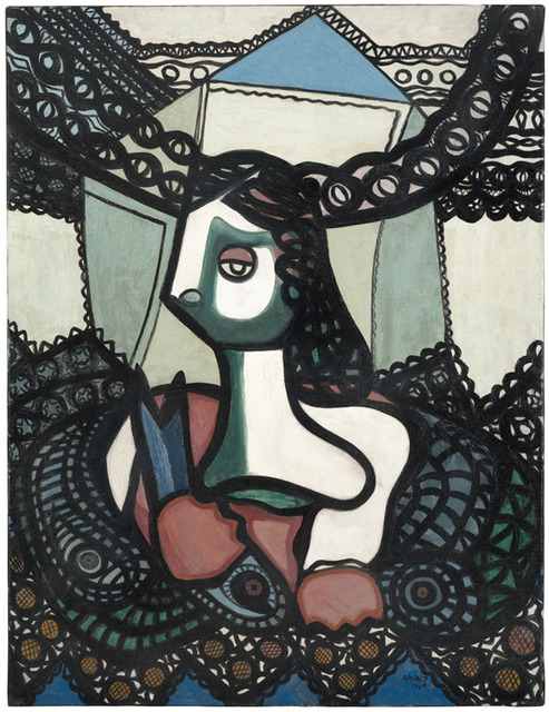 , 'Mujer con peces (Woman with Fish),' 1948, Pérez Art Museum Miami (PAMM)