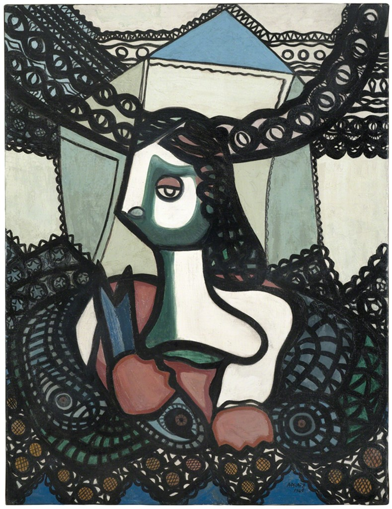 Amelia Peláez, 'Mujer con peces (Woman with Fish),' 1948, Pérez Art Museum Miami (PAMM)