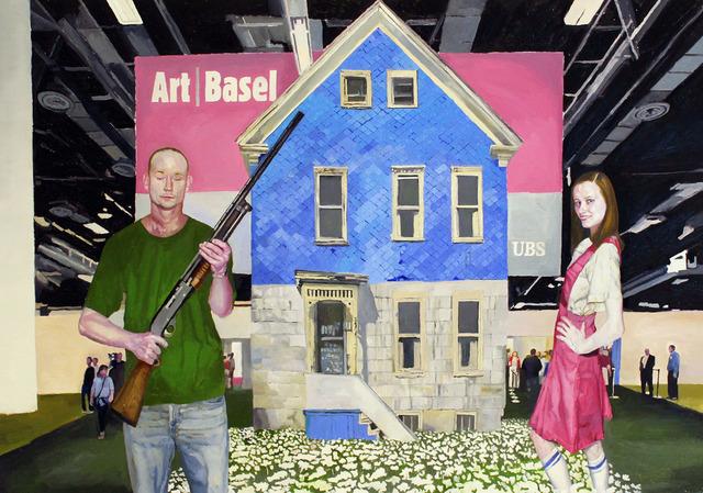 , 'Basel,' 2014, Galeria Inox