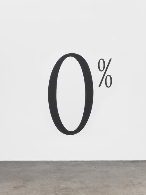 Haim Steinbach, '0%', 1997, Tanya Bonakdar Gallery