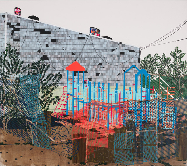 , 'Playground (Weeds),' 2013, Edward Tyler Nahem Fine Art LLC