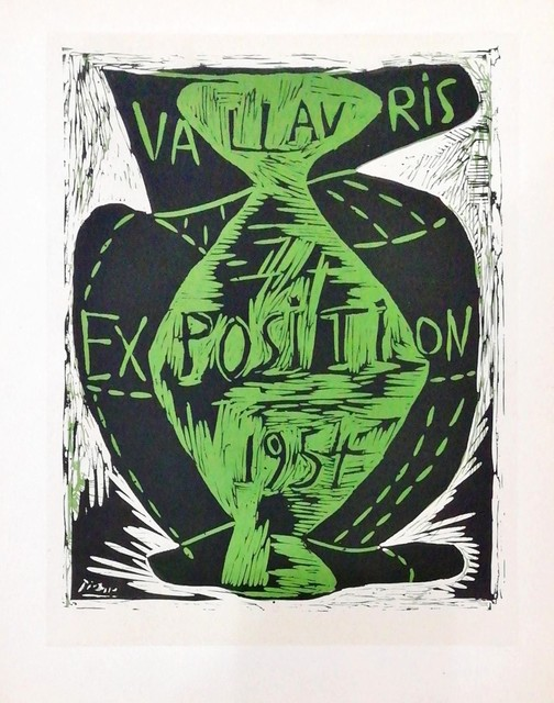 Pablo Picasso, 'Exposition Vallauris 1954', 1959, Hidden