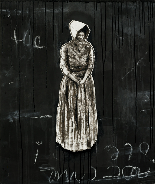, 'Turn your back on History 2,' 2017, Kalashnikovv Gallery
