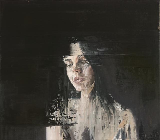 , 'Deep Black Portrait I,' 2016, Opera Gallery