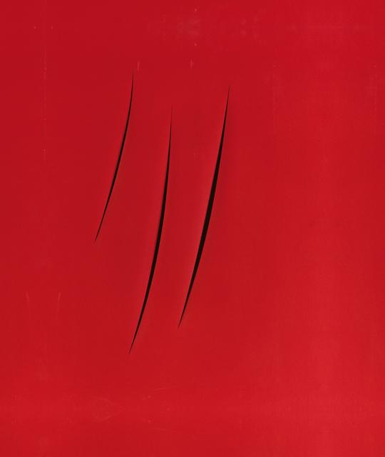 , 'CONCETTO SPAZIALE ATTESE,' 1959, Leopold Museum