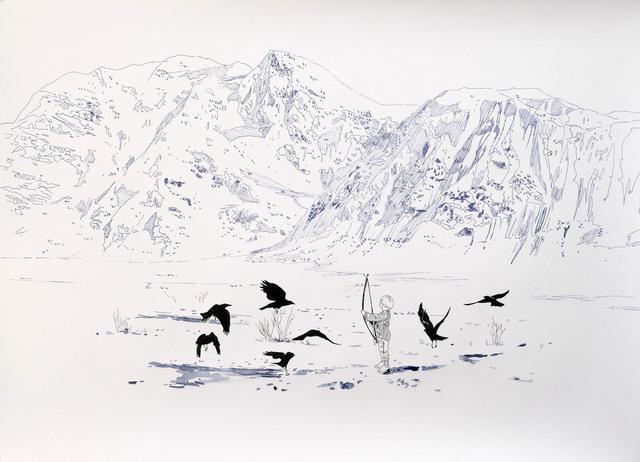 , 'Mit Pfeil und Bogen (With Bow and Arrow),' 2018, Victor Lope Arte Contemporaneo