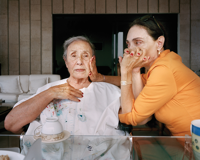 , 'Brigitte and Huguette, Ghazir Lebanon,' 2014, East Wing