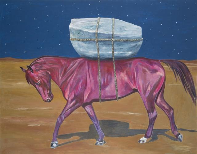 , 'Purple Horse,' 2017, Galleria Heino