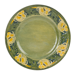 Early Plate With Chrysanthemums, New Orleans, LA