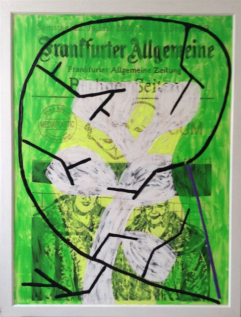 , 'PAINTINGSCULPTURE Frankfurter Allgemeine,' 2014, Artelier Contemporary