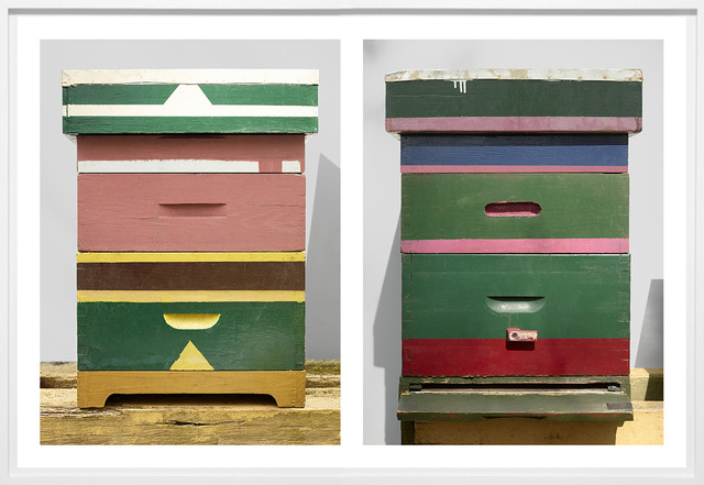 , 'Beehives (Triangles) and Beehives (Stripes),' 2017, The Ravestijn Gallery