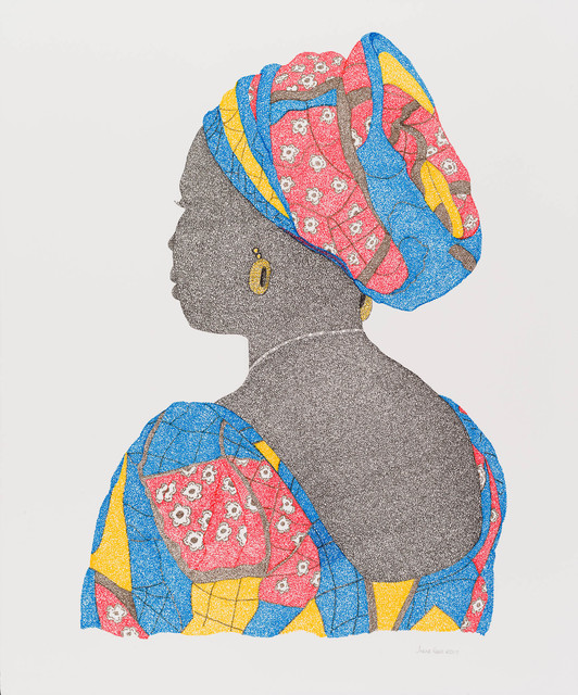, 'Educated Women, Will Defeat Boko Haram,' 2017, Candida Stevens Gallery