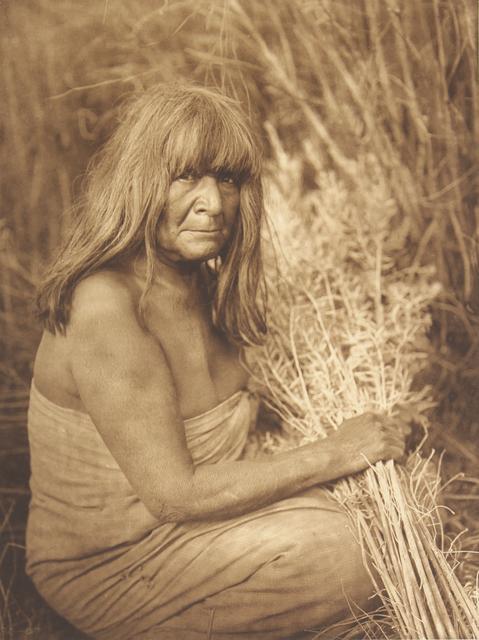 , 'Hipah With Arrow - Brush - Maricopa,' 1907-1930, Empty Gallery