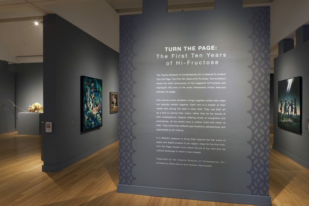 Turn the page the first ten years of hi fructose at the virginia museum
