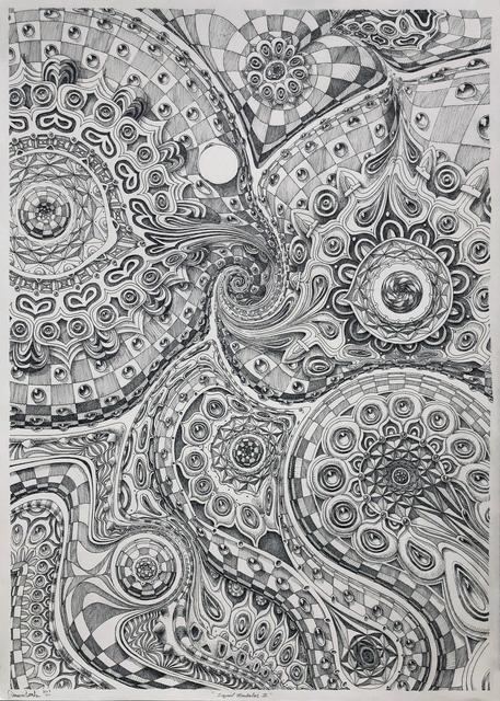 , 'Liquid Mandala II,' 2018, Mirus Gallery