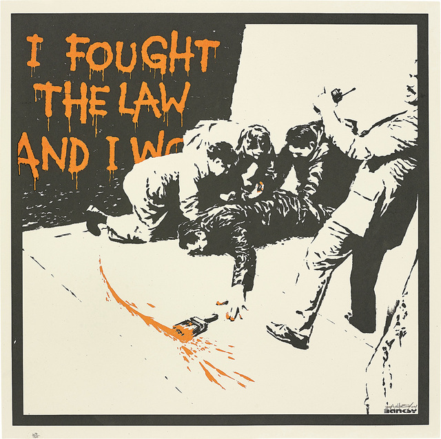Banksy, 'I Fought the Law', 2004, Phillips