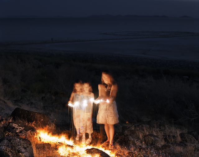 , 'Sparklers, Spiral Jetty, Gunnison Bay, Great Salt Lake, Box Elder County, Utah, 2004 1/5,' , Gail Severn Gallery