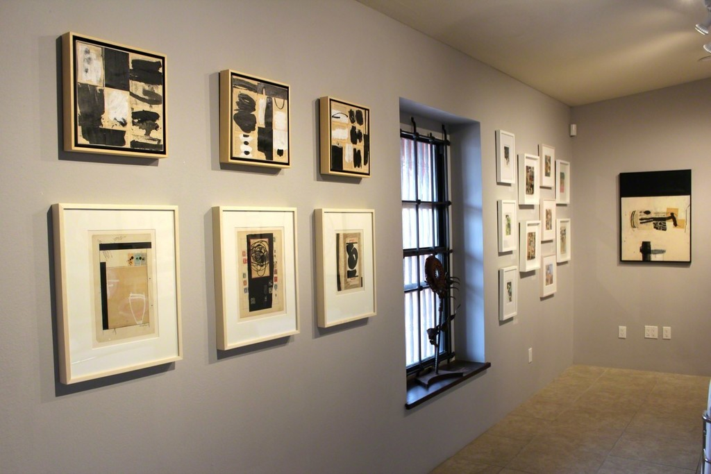 Installation view of Dennis Parlate's exhibition.