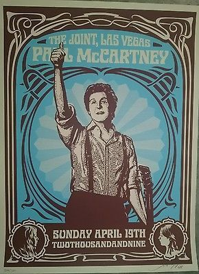 Shepard Fairey, 'Paul Mccartney Hard Rock Cafe', Bruce Lurie Gallery